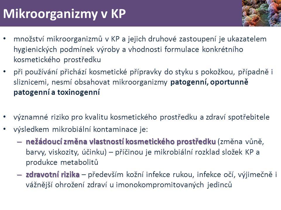 Mikroorganizmy v KP