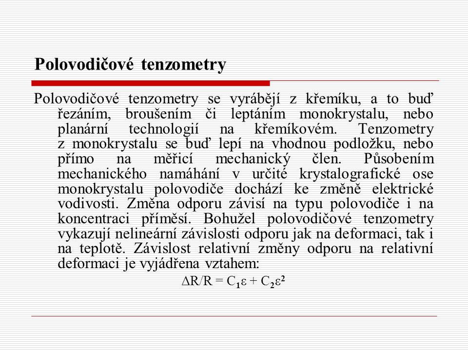 Polovodičové tenzometry
