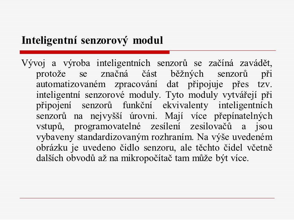 Inteligentní senzorový modul