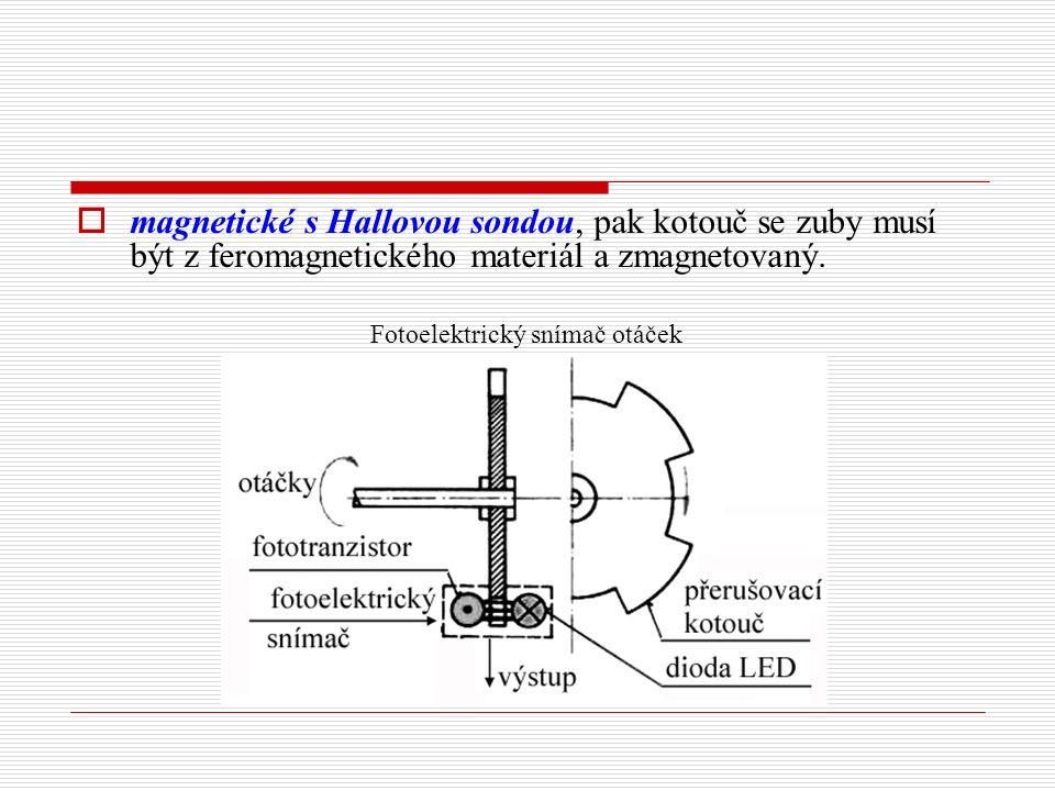 Fotoelektrický snímač otáček