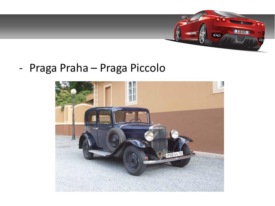 Praga Praha – Praga Piccolo
