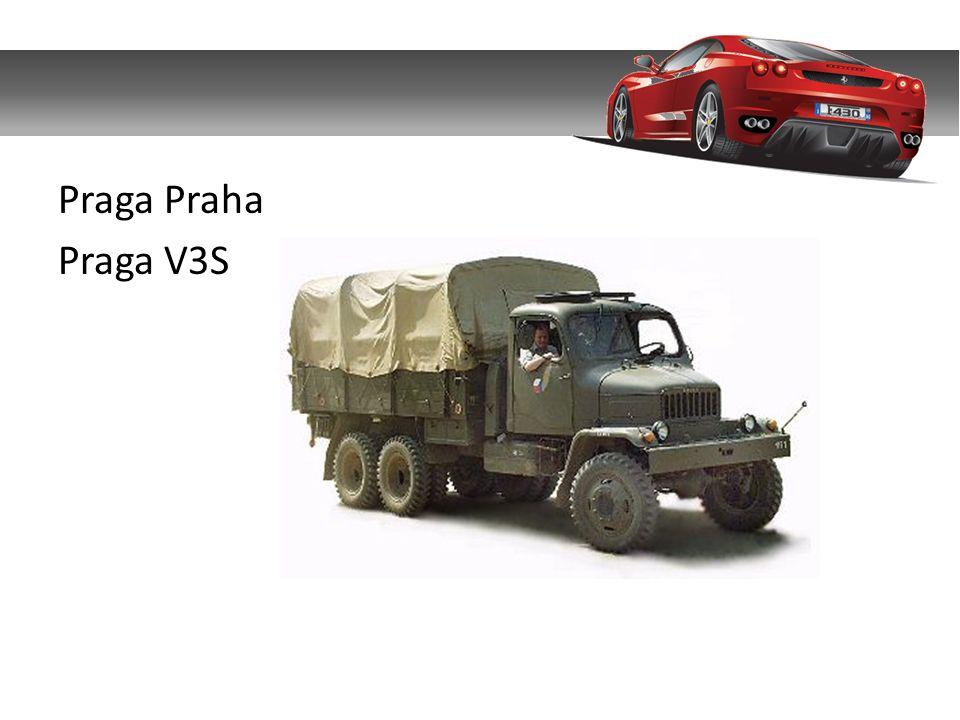 Praga Praha Praga V3S