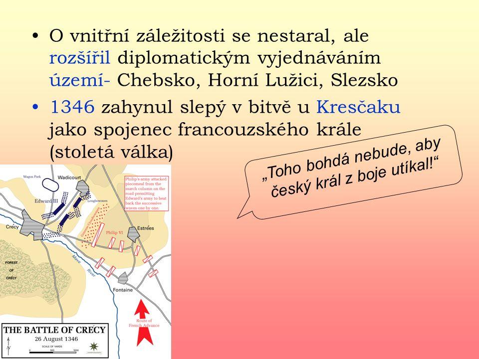 """""""Toho bohdá nebude, aby český král z boje utíkal!"""
