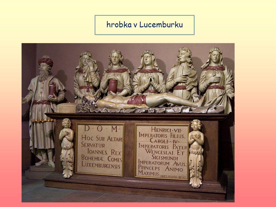 hrobka v Lucemburku