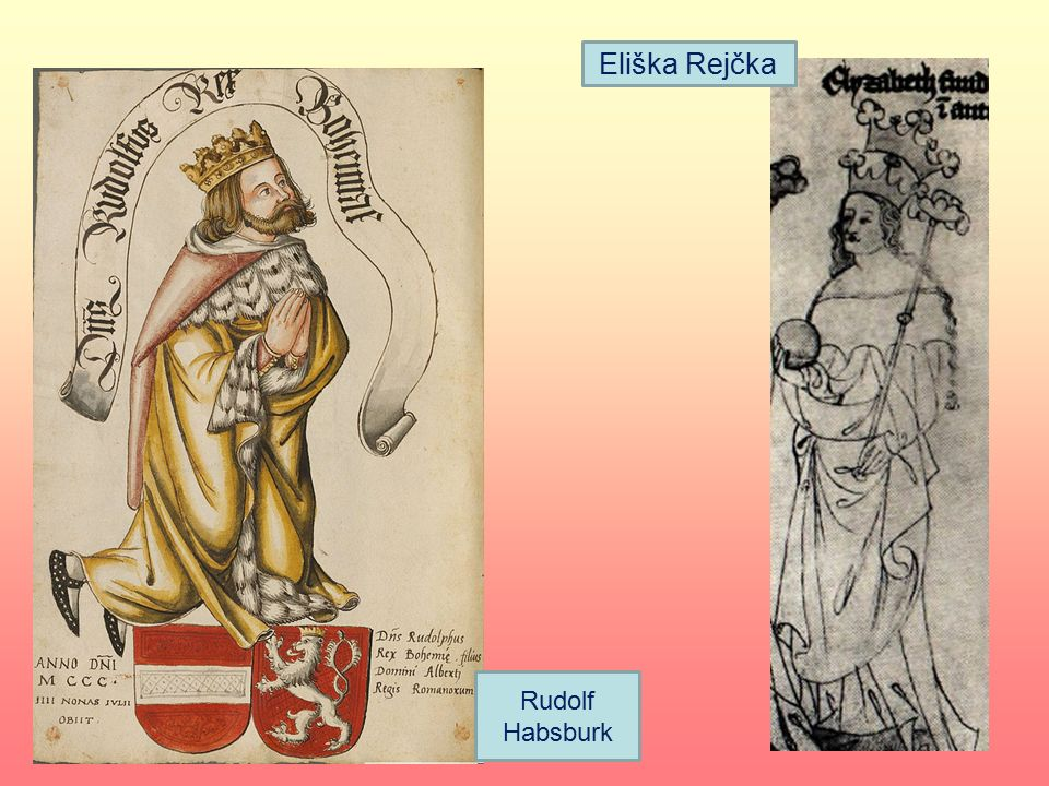 Eliška Rejčka Rudolf Habsburk