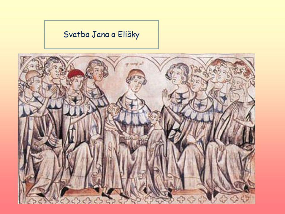 Svatba Jana a Elišky