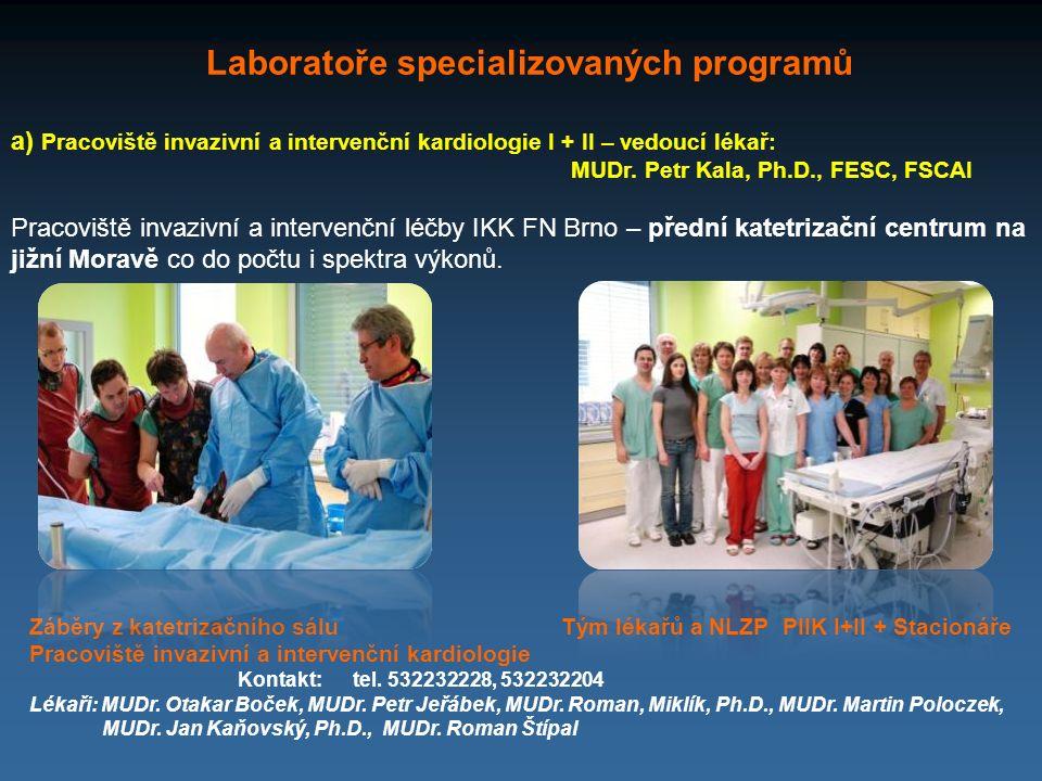 Laboratoře specializovaných programů