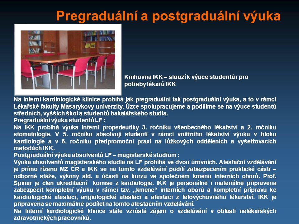 Pregraduální a postgraduální výuka