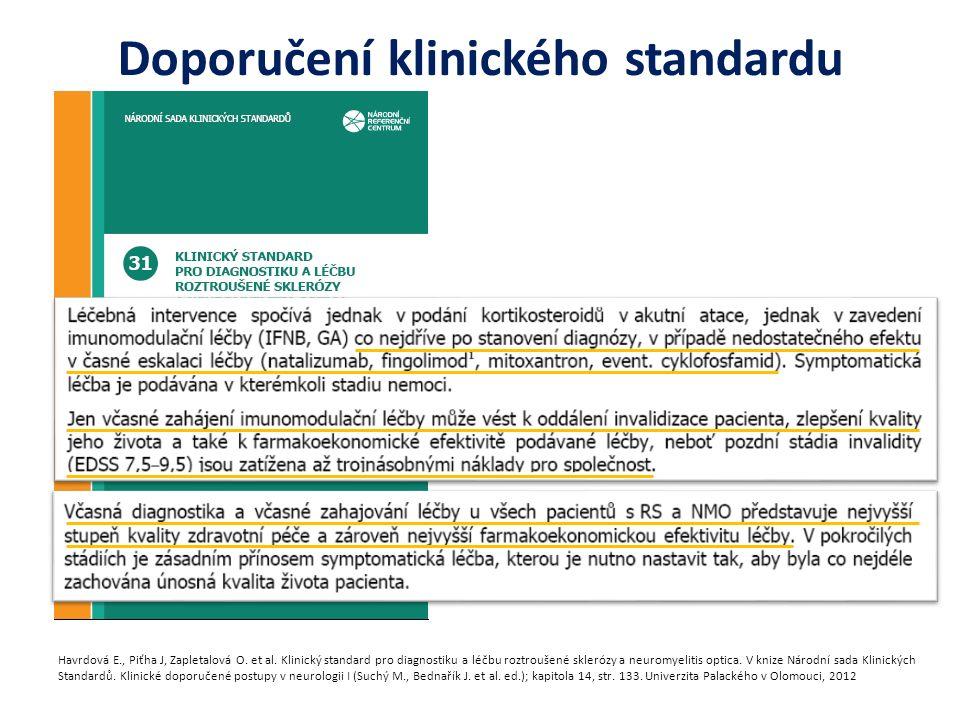 Doporučení klinického standardu