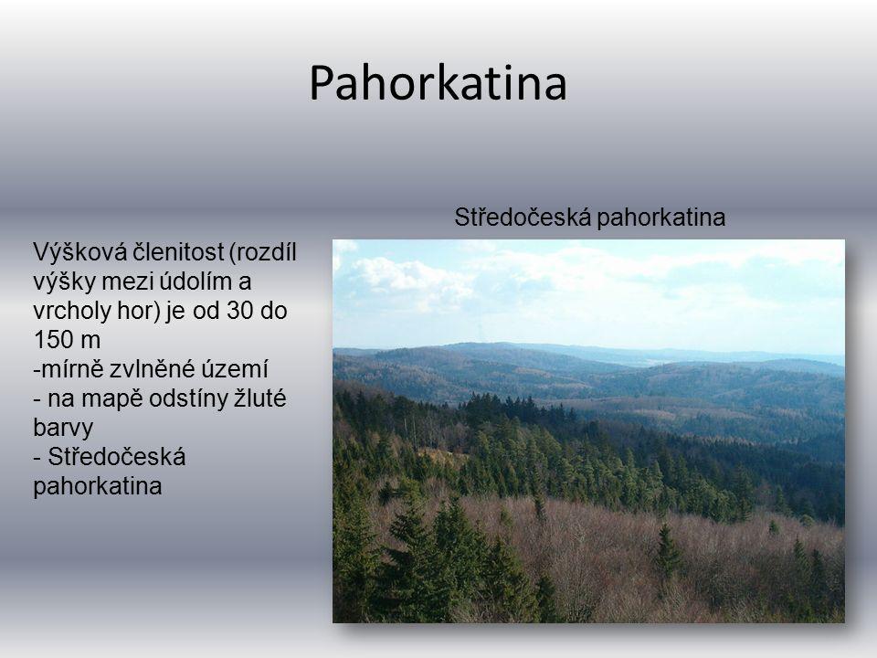 Pahorkatina Středočeská pahorkatina
