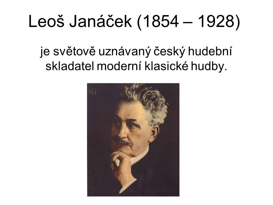 je světově uznávaný český hudební skladatel moderní klasické hudby.