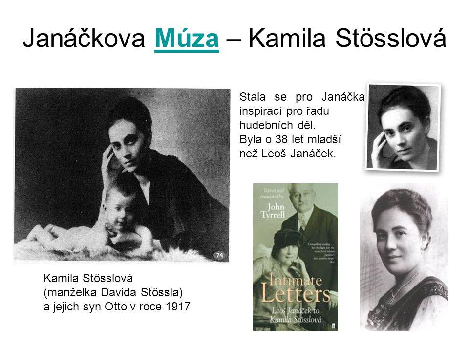 Janáčkova Múza – Kamila Stösslová