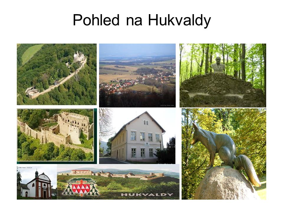 Pohled na Hukvaldy