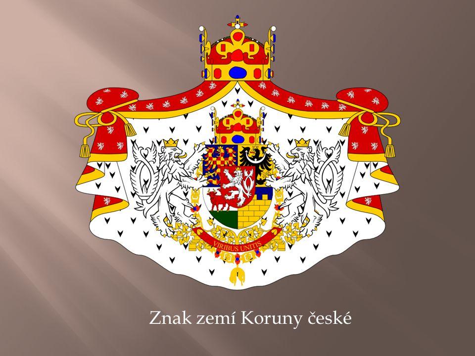 Znak zemí Koruny české