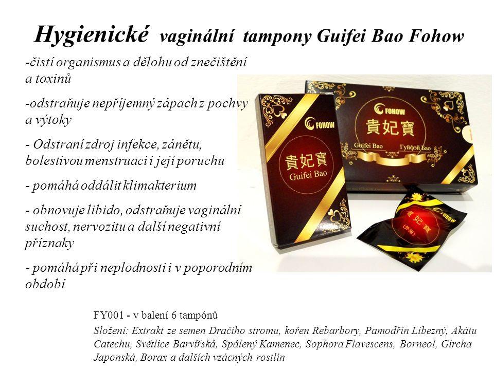 Hygienické vaginální tampony Guifei Bao Fohow