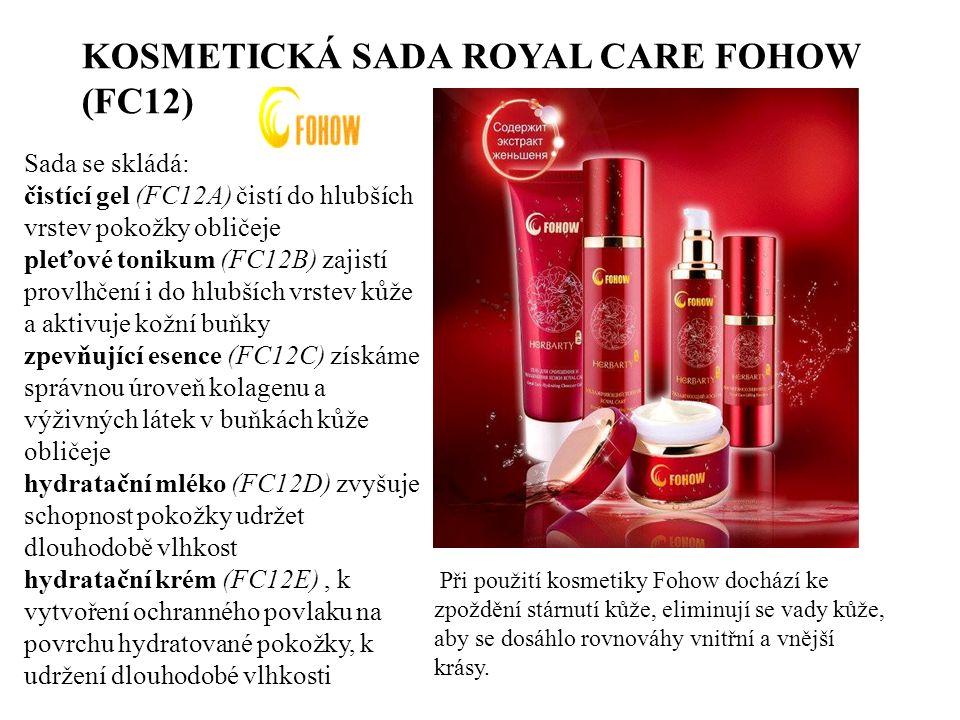 KOSMETICKÁ SADA ROYAL CARE FOHOW (FC12)