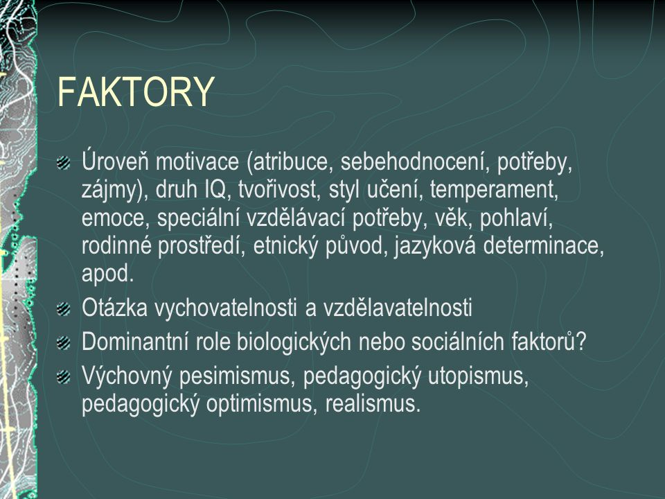 FAKTORY