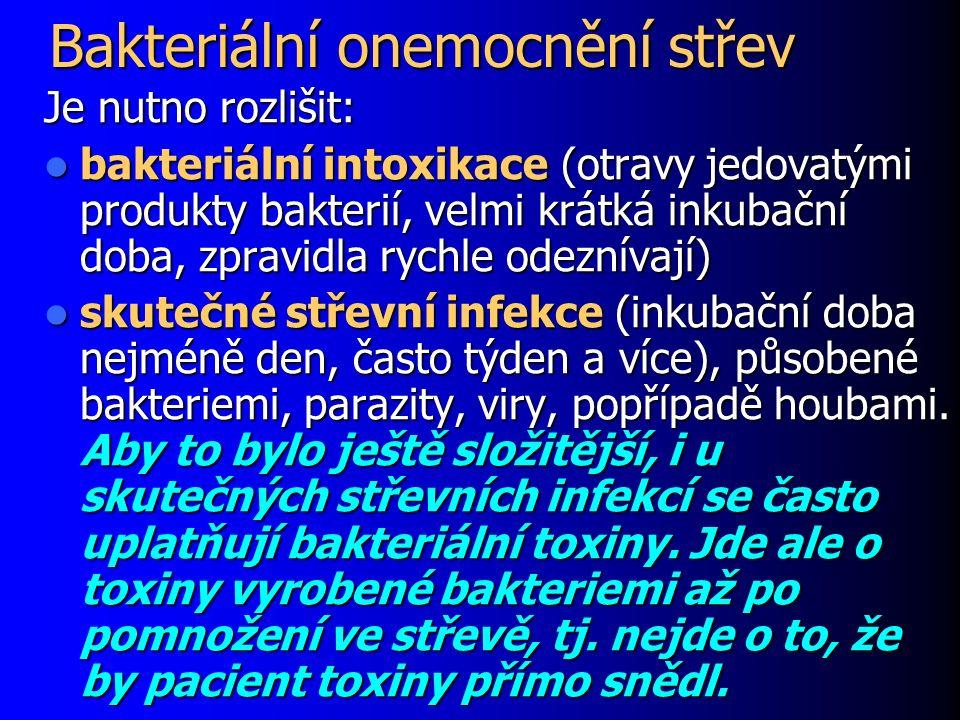 Bakteriální onemocnění střev