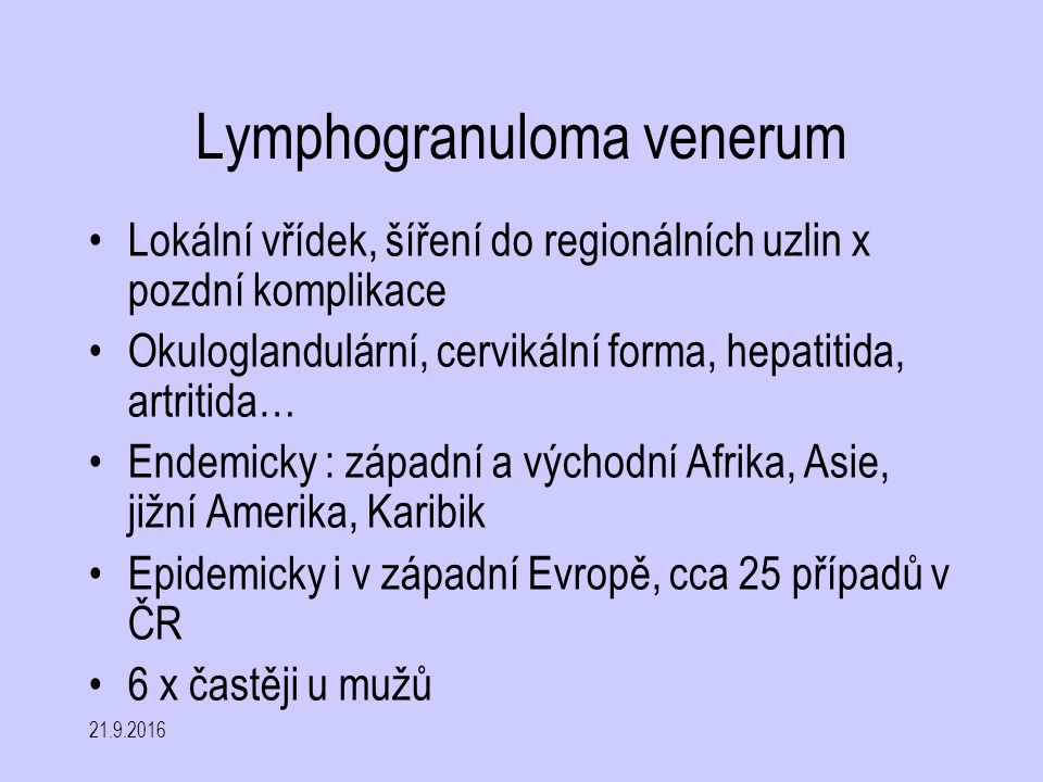 Lymphogranuloma venerum