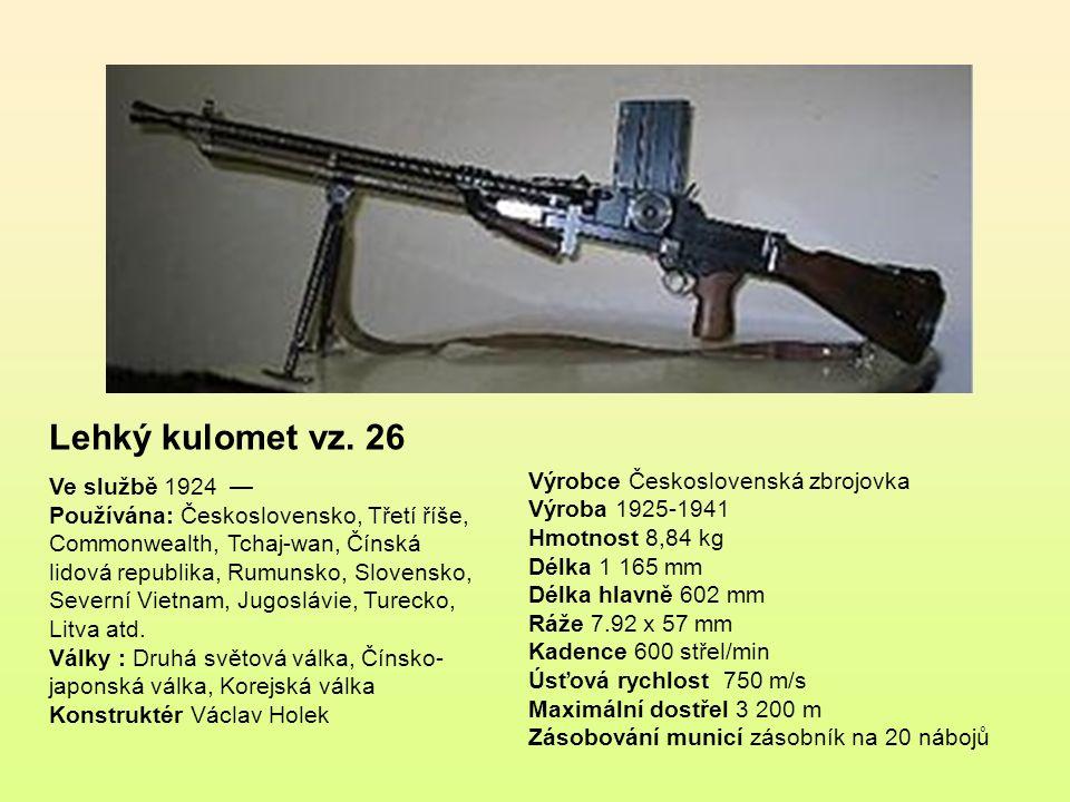 Lehký kulomet vz. 26