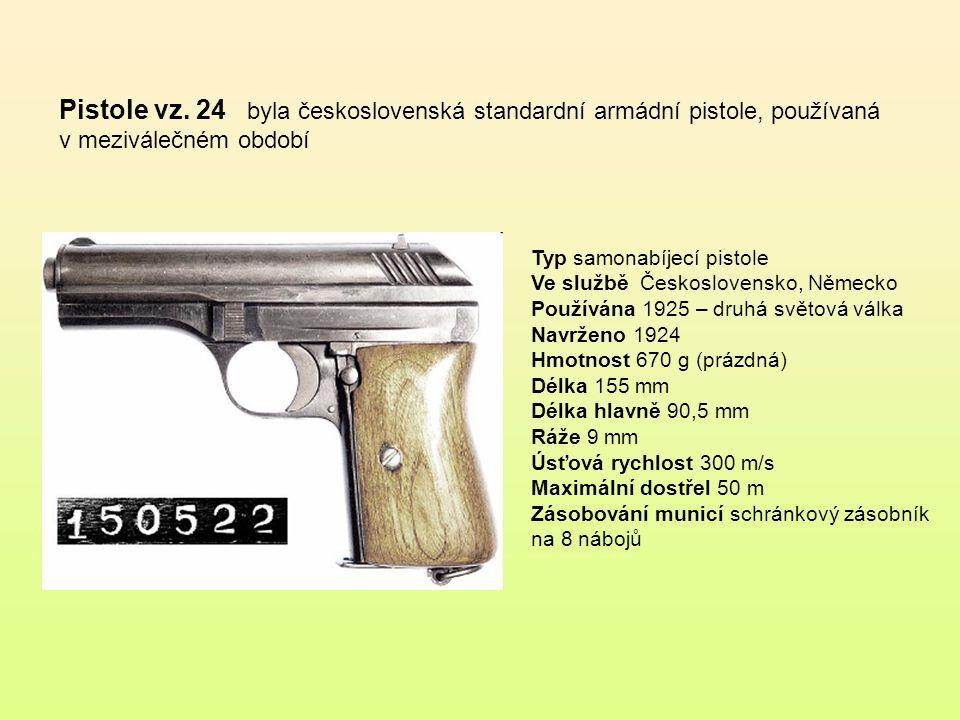 Pistole vz. 24 byla československá standardní armádní pistole, používaná v meziválečném období