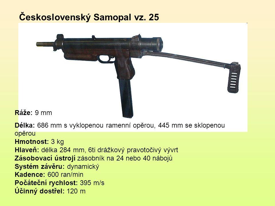 Československý Samopal vz. 25