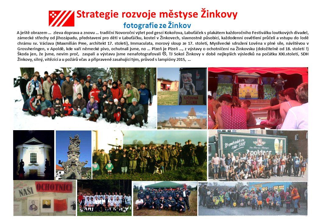 Strategie rozvoje městyse Žinkovy fotografie ze Žinkov