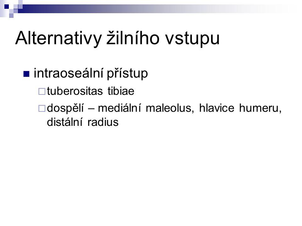 Alternativy žilního vstupu