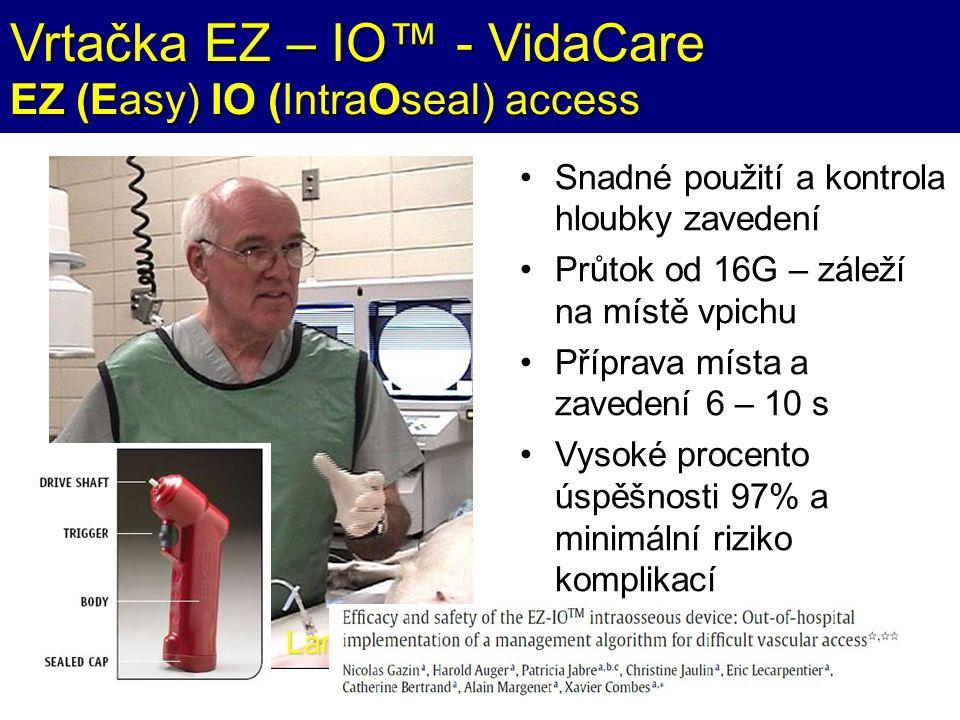 Vrtačka EZ – IO™ - VidaCare EZ (Easy) IO (IntraOseal) access