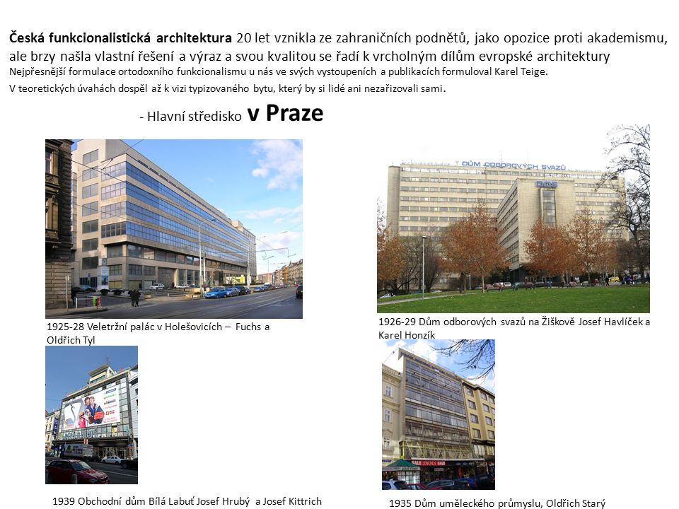 - Hlavní středisko v Praze