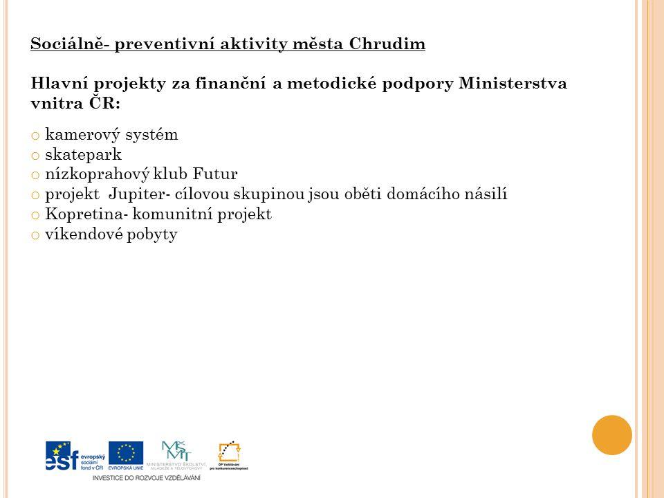 Sociálně- preventivní aktivity města Chrudim