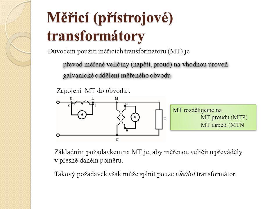 Měřicí (přístrojové) transformátory