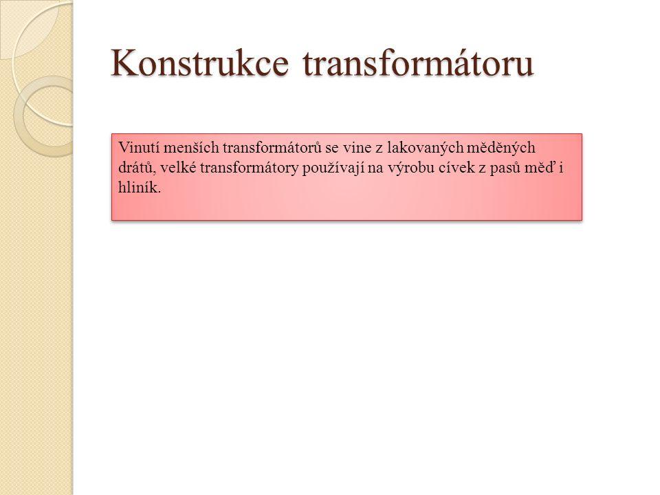 Konstrukce transformátoru