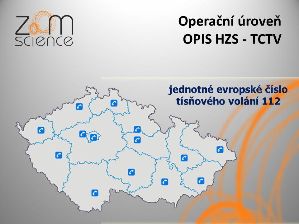 Operační úroveň OPIS HZS - TCTV