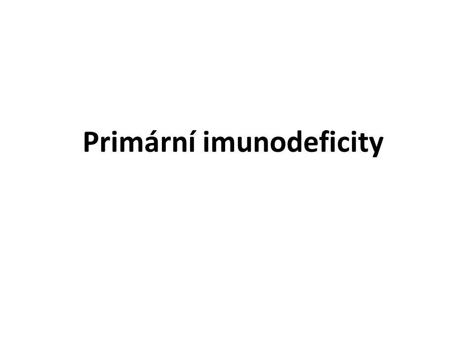 Primární imunodeficity