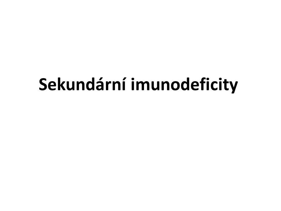 Sekundární imunodeficity