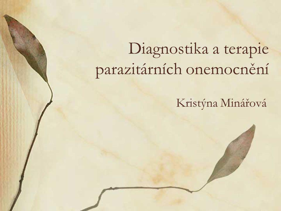 Diagnostika a terapie parazitárních onemocnění