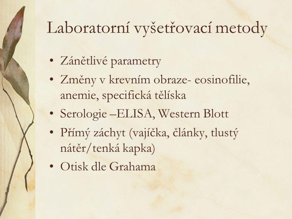 Laboratorní vyšetřovací metody