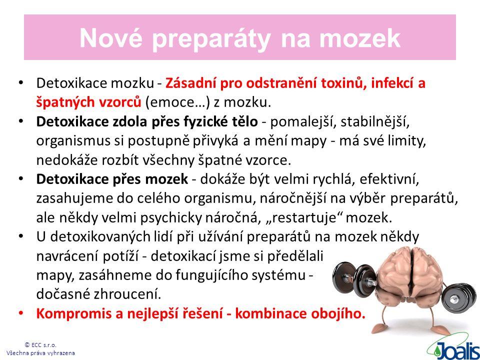 Nové preparáty na mozek