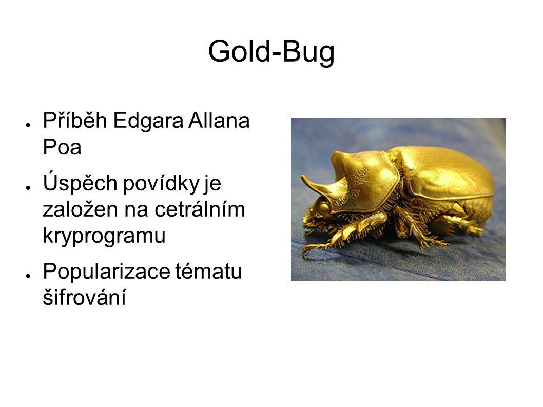 Gold-Bug Příběh Edgara Allana Poa