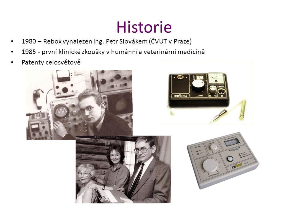 Historie 1980 – Rebox vynalezen Ing. Petr Slovákem (ČVUT v Praze)