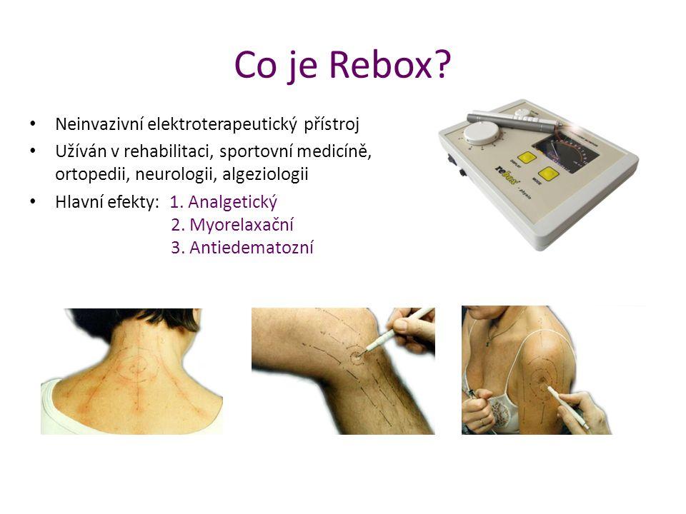 Co je Rebox Neinvazivní elektroterapeutický přístroj