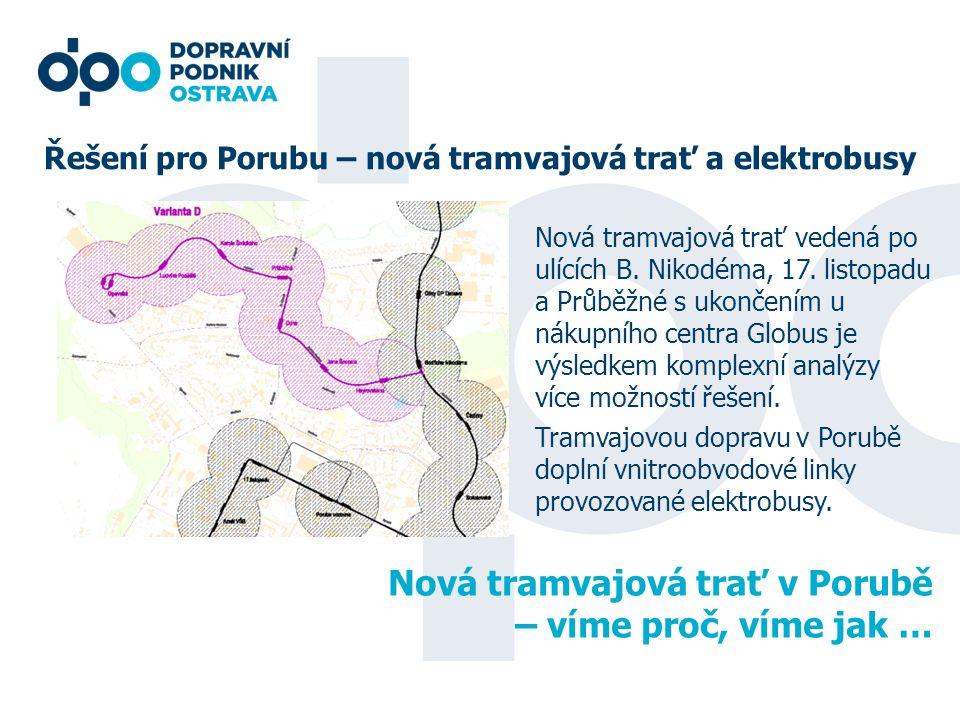Nová tramvajová trať v Porubě – víme proč, víme jak …