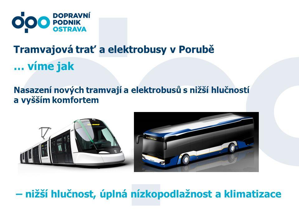 … víme jak Tramvajová trať a elektrobusy v Porubě