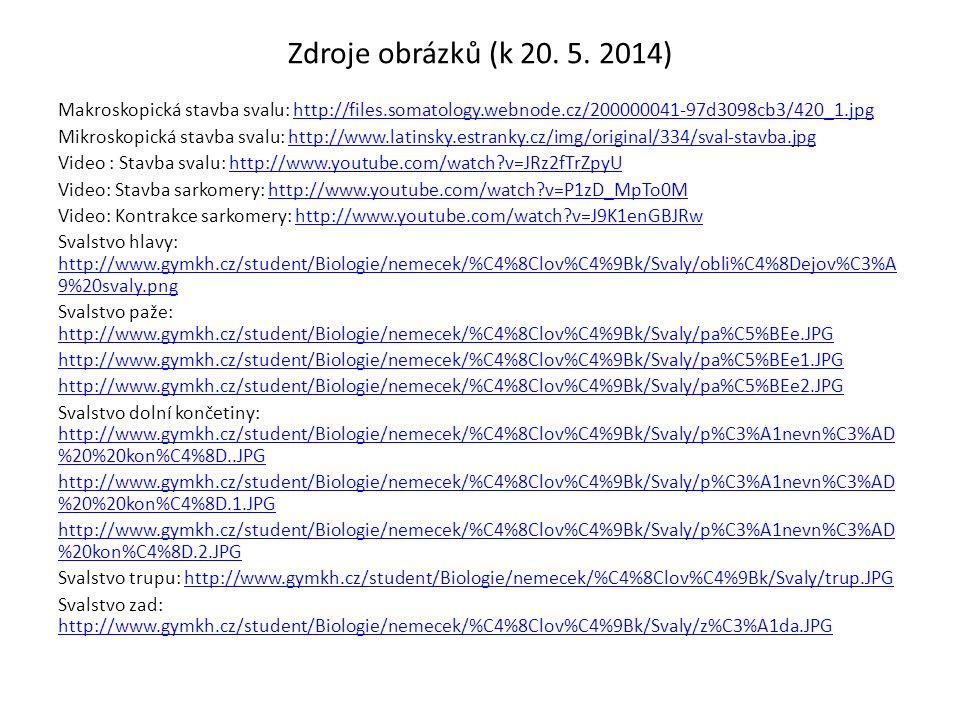 Zdroje obrázků (k 20. 5. 2014)