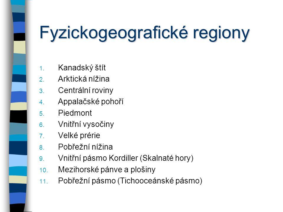 Fyzickogeografické regiony