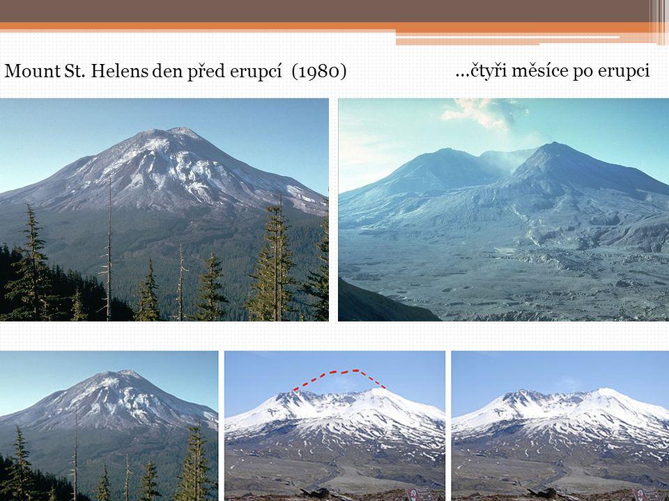 Mount St. Helens den před erupcí (1980)