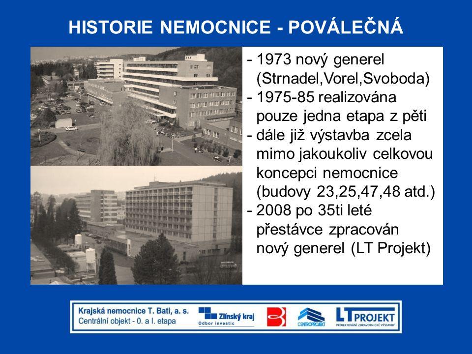 HISTORIE NEMOCNICE - POVÁLEČNÁ