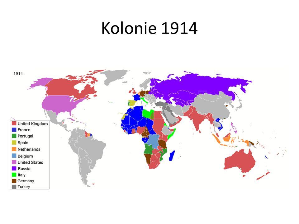 Kolonie 1914