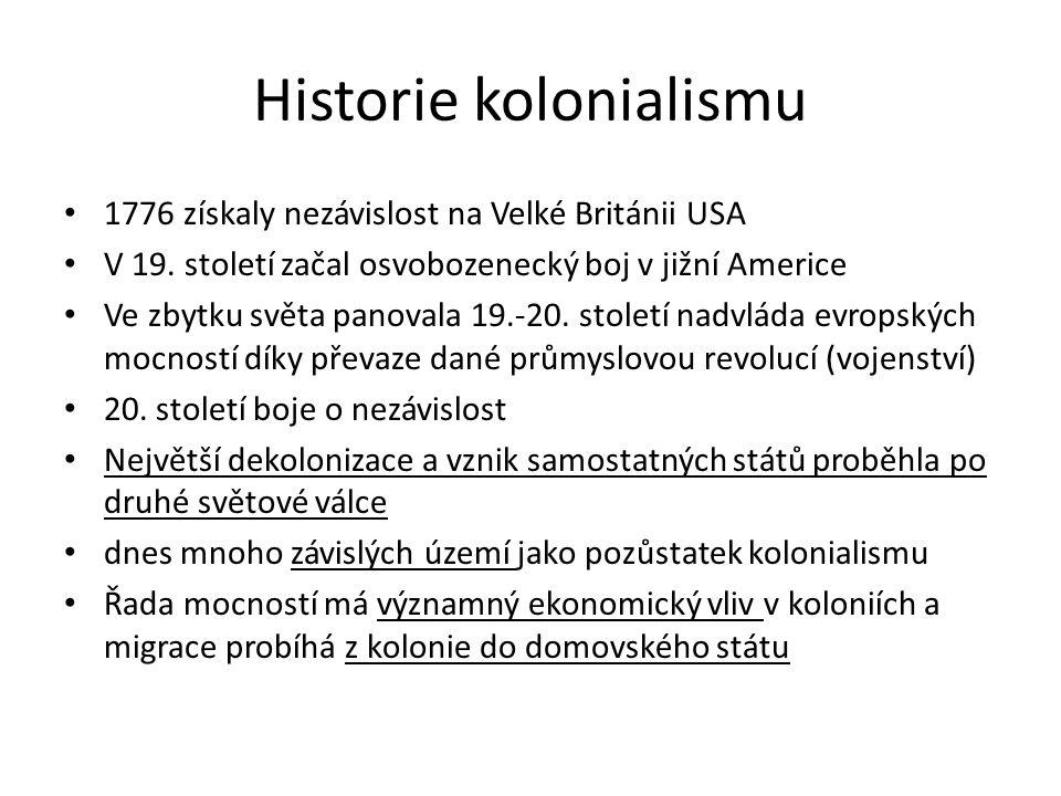 Historie kolonialismu